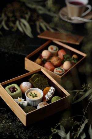 「和束茶アフタヌーンティーセット 二段重」イメージ