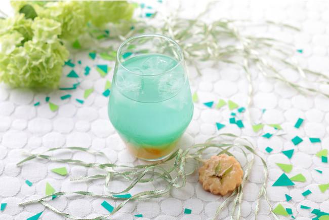 四葉の天真爛漫グリーンアップルカクテル(ノンアルコール) クッキー付 1,089円