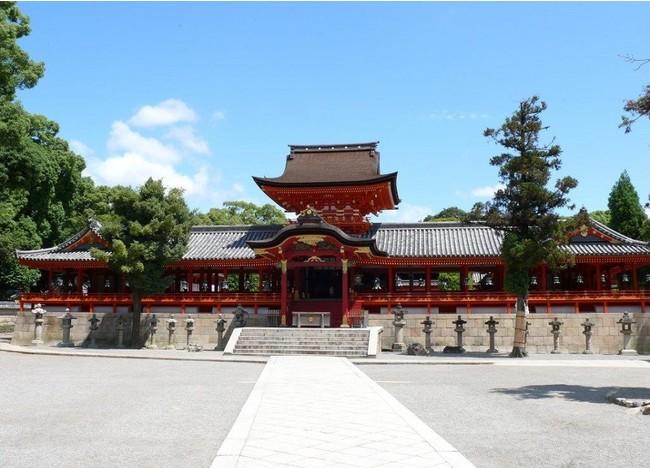 平成28年(2016年)2月に国宝に認定された石清水八幡宮の御本社