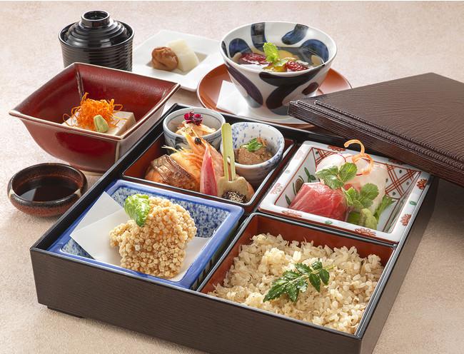 日本料理 なかのしま「松花堂弁当」