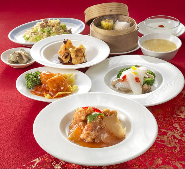 中国料理 皇家龍鳳「龍鳳セット」