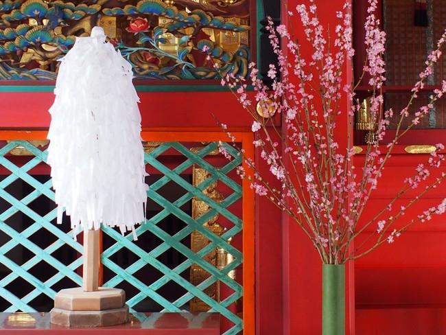 3月3日<桃花(とうか)祭>の設え