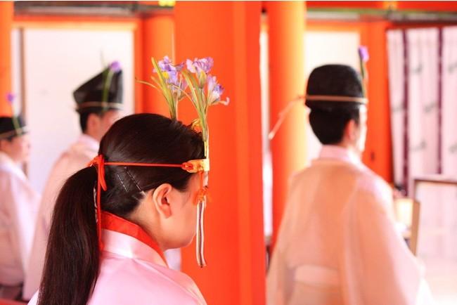 5月5日<菖蒲(しょうぶ)祭>の設え
