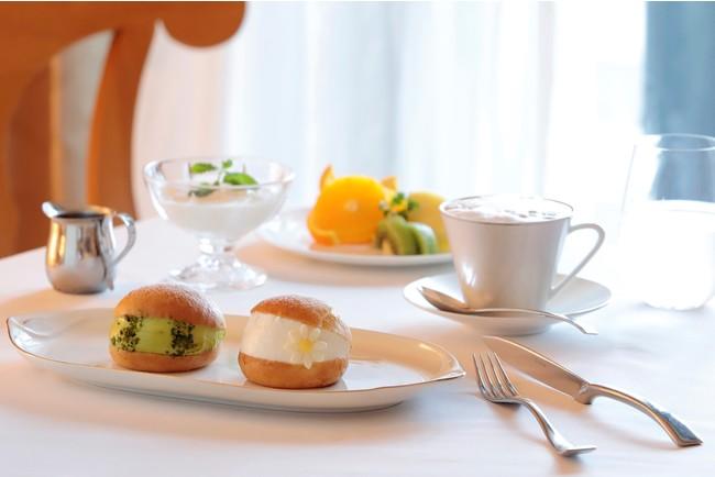 「マリトッツォで優雅な朝食を」ルームサービス イメージ