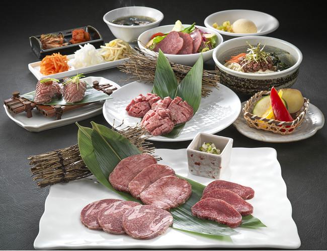 「牛タン食べづくしセット」 一人前イメージ