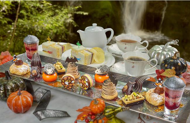 """「Dessert&Tea""""秋の森""""ハロウィンver. 」イメージ(2名様分)"""