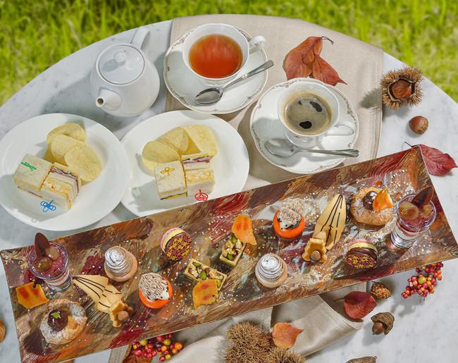 """「Dessert&Tea""""秋の森""""」イメージ(2名様分)"""