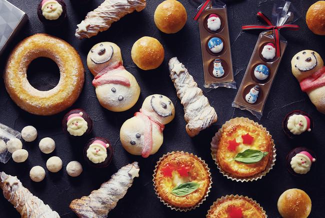 クリスマスブレッド・焼き菓子イメージ