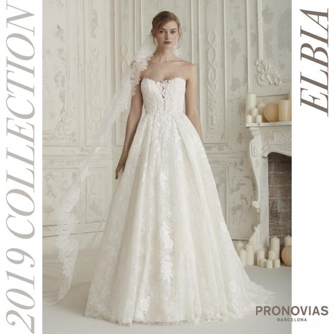 34d399d6d5905 国内初販売!「PRONOVIAS2019-プロノビアス2019コレクション」世界で最も ...