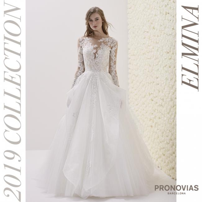 bc62635f8609e ... プロノビアス-PRONOVIAS (バルセロナ)』の2019コレクションが6月29日(金)より国内初販売!PRONOVIAS2019の国内初販売 を記念して各店でセールを実施中!2018年6 ...