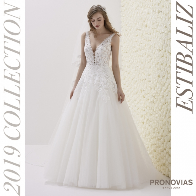 d1ce167da4014 国内初販売!「PRONOVIAS2019-プロノビアス2019コレクション」世界で最も ...