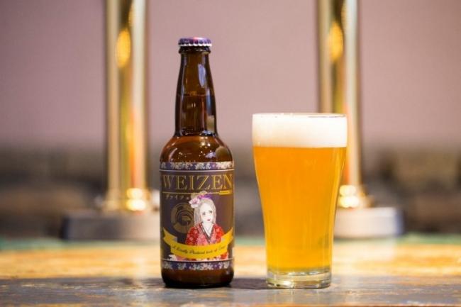 ▲銅賞を受賞した丹後クラフトビール『ヴァイツェン』