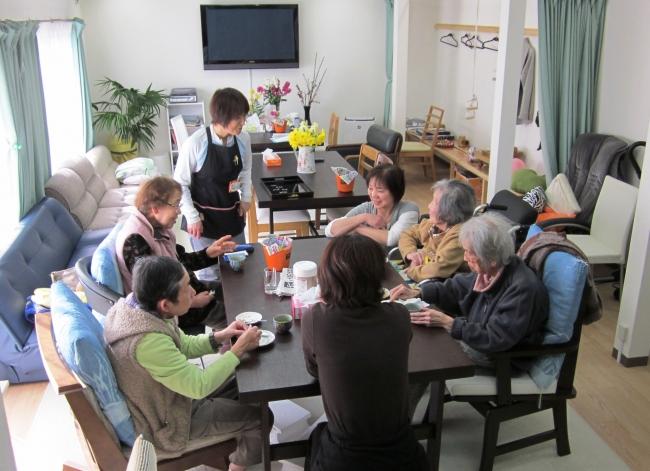 介護施設の様子(和歌山県)
