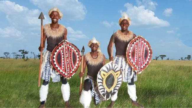 アーティスト名:Afiki Arts(ケニア) パフォーマンス内容:アフリカ民族舞踊