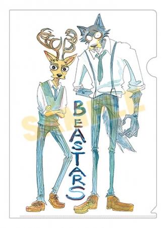 『BEASTARS』クリアファイル(7ポイント景品)※描き下ろし