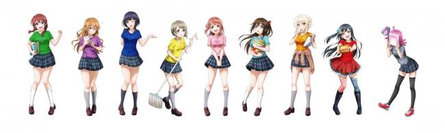 ▲『ラブライブ!虹ヶ咲学園スクールアイドル同好会』描きおろしビジュアル