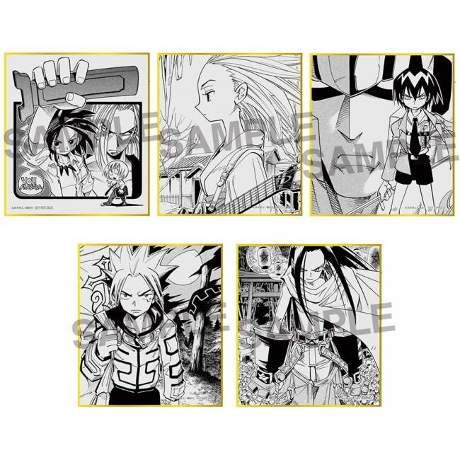入場特典:ミニ色紙(全5 種)
