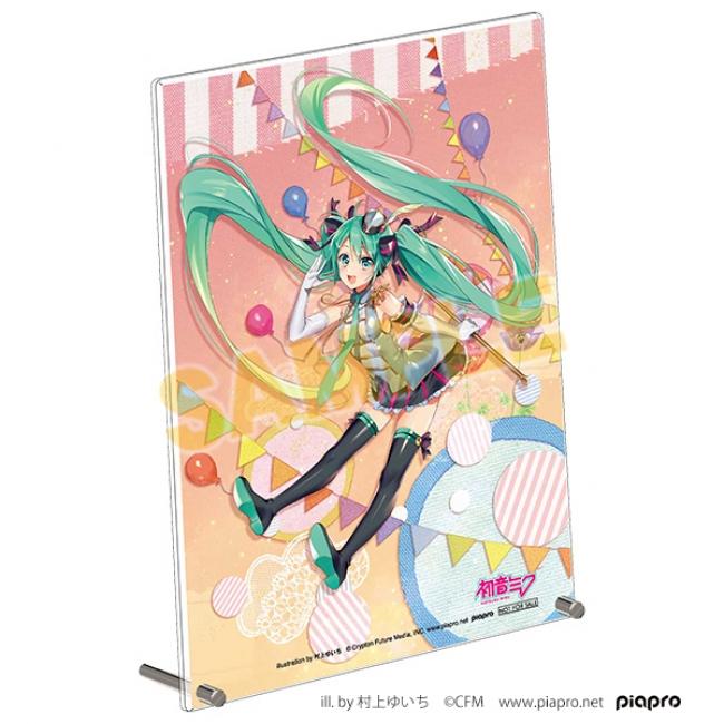 30P景品A5アクリルボード『「初音ミク」シリーズ』Illustration by 村上ゆいち