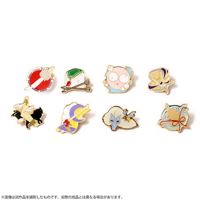 ピンズコレクション(全8種)