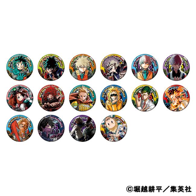 △『僕のヒーローアカデミア』コレクション缶バッジ 第6弾(全16種)