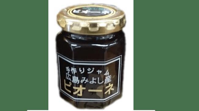 ピオーネジャム724円(税込)■三次産ピオーネを贅沢に使用した手作りジャムです。