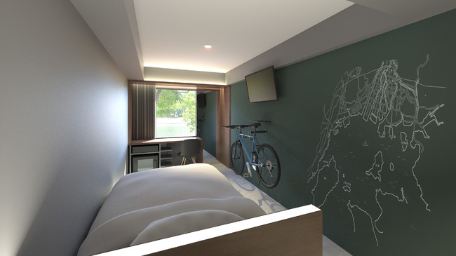 EN HOTEL Hiroshima 客室