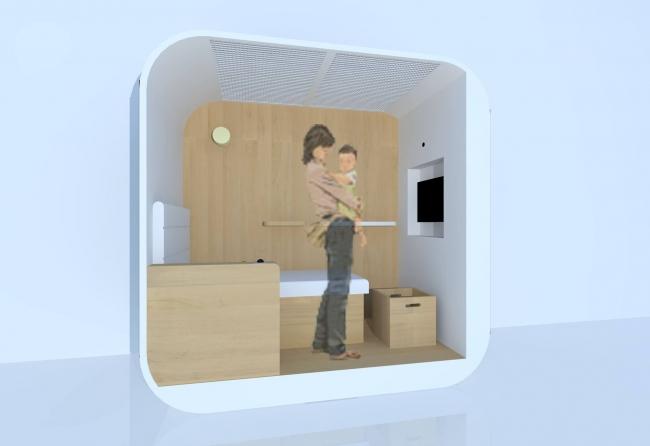 完全個室なので安心して利用できます