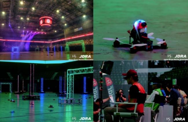 一般社団法人日本ドローンレース協会(JDRA)が主催した日本で最大規模となる「Japan Drone Nationals」は観客動員約2000人