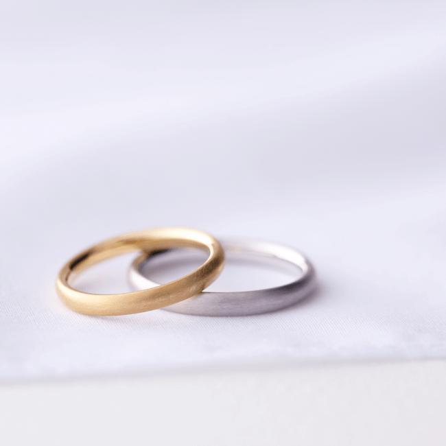 結婚指輪ブラシュケル