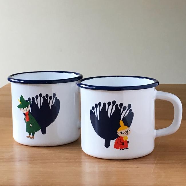 ムーミン&フラワーマグカップ