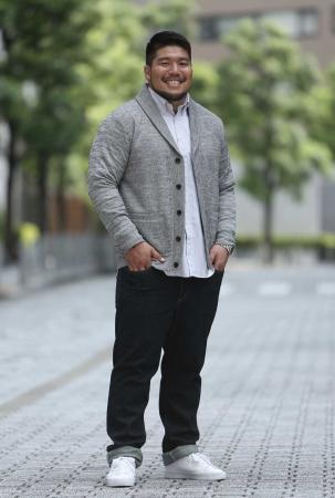 LOVE&LARGE Stylish Person ラグビー選手 畠山健介さん