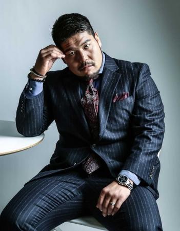 Mr.Babe的スーツ特集 ラグビー選手 畠山健介