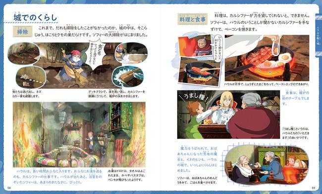 城でのくらし「ハウルの動く城」(c)2004 Studio Ghibli・NDDMT
