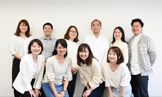 (PIAZZAメンバー写真 上段左:吉澤、上段左二番:島崎、上段右三番:奥澤)