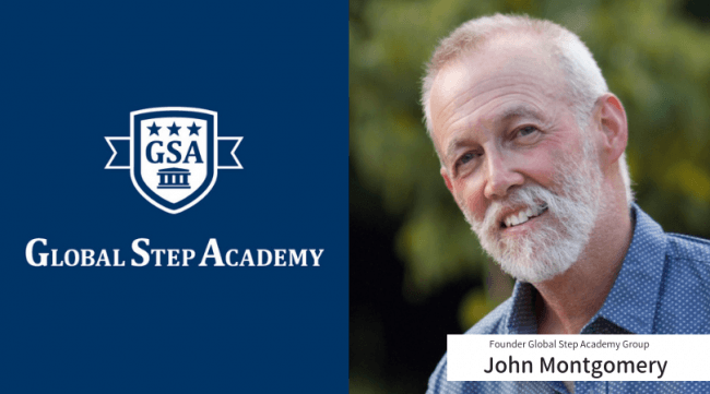 GSAの創立者で個別進路相談に登場するジョン・モントゴメリー先生