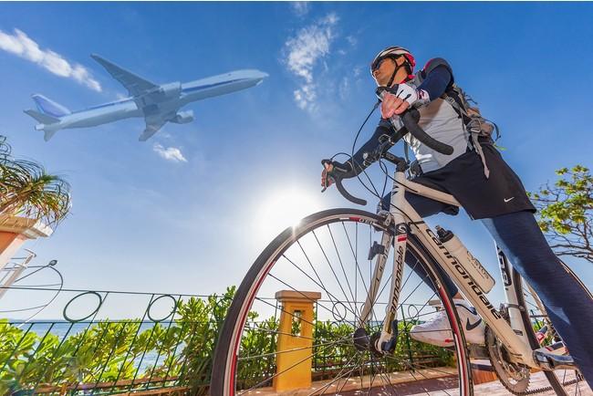 沖縄の空の下自転車を走らせよう