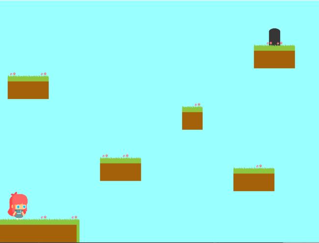 GMS2を用いたゲーム画面