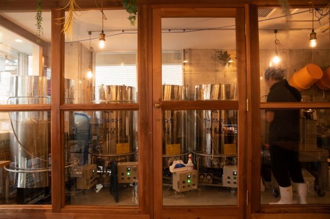 craft SAKE brewery「WAKAZE三軒茶屋醸造所」