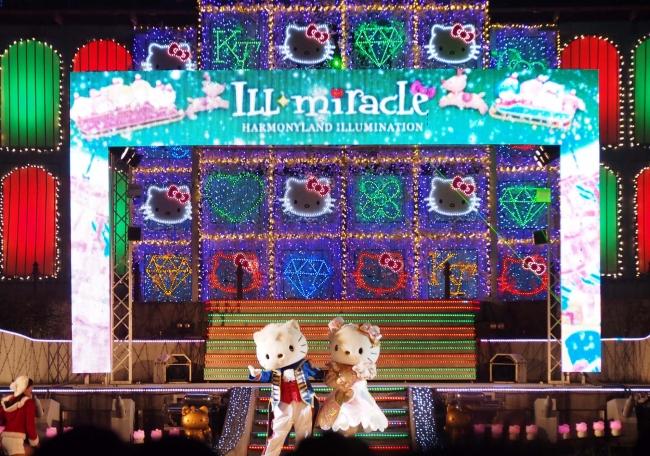 レーザーショー「イル★ミラクル~クリスマスナイトパーティー」