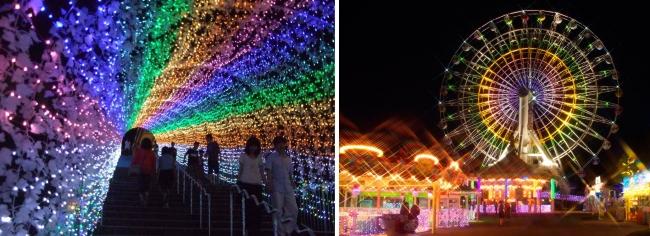 光のトンネル&キラキラアトラクション