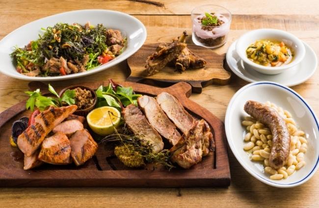 レストラン HyLife Pork TABLEの腹筋コース
