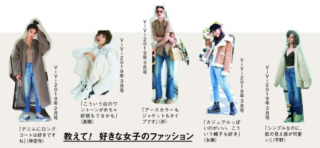 ViViの提案する「ラテガール」ファッション