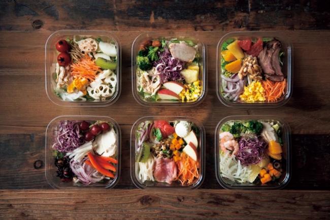 新鮮なサラダやフルーツが届いて100円から買える画期的システム『OFFICE DE YASAI』