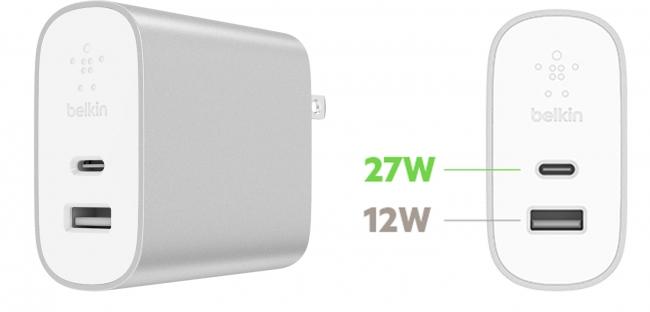 BOOST↑CHARGE(TM) USB充電器(27W USB-C(TM) + 12W USB-A)