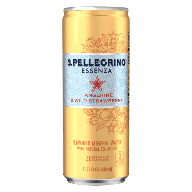 「サンペレグリノ エッセンザ」タンジェリン&ワイルドストロベリー
