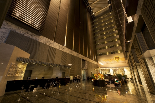 ホテル ヴィラフォンテーヌ 東京汐留 ロビー