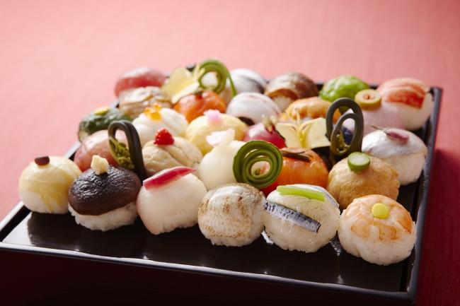 ※写真は以前体験の手まり寿司