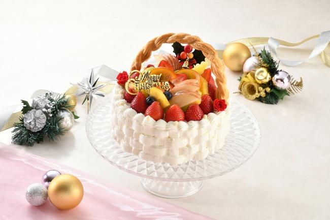 クリスマスフルーツバスケット