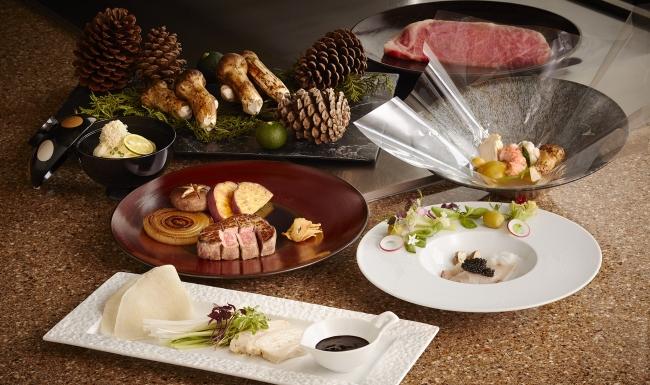 香川県の味覚、オリーブ牛と松茸フェア