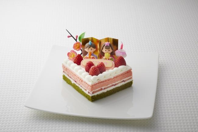ひな祭りショートケーキ